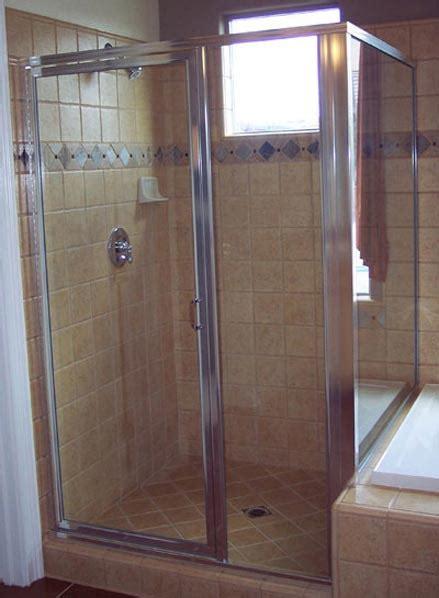 Framed Glass Shower Door Door Frame Framed Glass Shower Doors