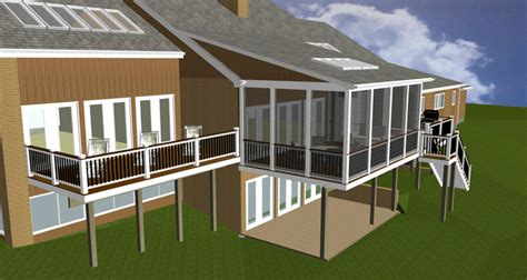 Shed Roof Porch Designs by The Eye Of Artful Design Potomac Md Home Home With A