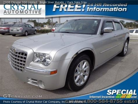 2008 Chrysler 300 Limited by Bright Silver Metallic 2008 Chrysler 300 Limited