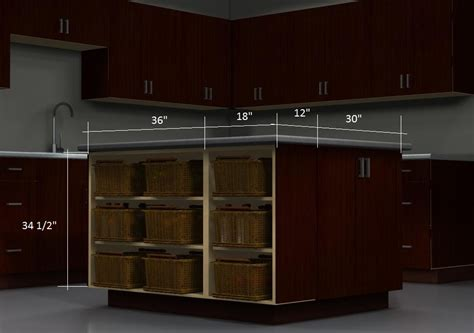 kitchen island configurations open cabinets with baskets the high end look for a lot less ikdo