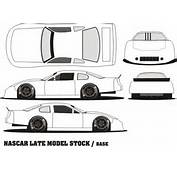 Pin Late Model Race Car Template On Pinterest