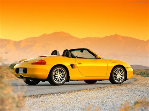 yellow porsche boxster porsche 986 boxster exotic car wallpapers 002 of 43