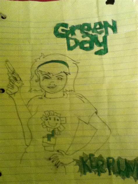Cd Import Green Day Kerplunk kerplunk green day album cover by americaneulogy23 on