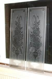 Glass Panels For Cabinet Doors Etched Glass Panels For Cabinet Doors Cabinet Glass
