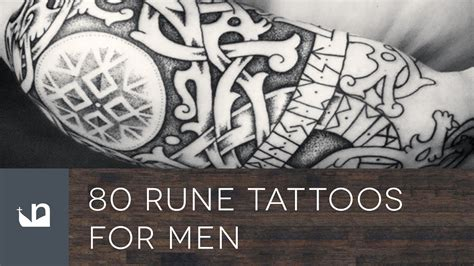 80 rune tattoos for men youtube