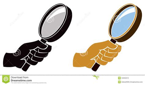 Web Based 3d Home Design Magnifying Glass Icon Stock Photography Image 34050212