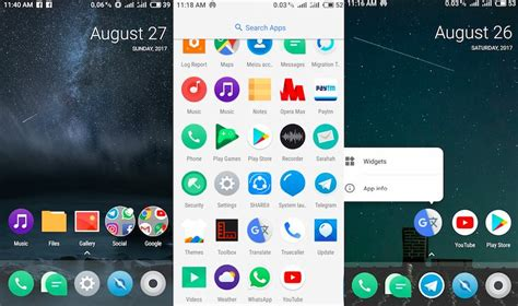 android launcher3 android oreo launcher3 home screen replacement app for your samsung xiaomi meizu