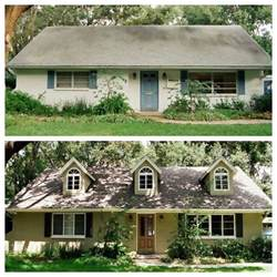 home reno exterior before and after home sweeeet home pinterest