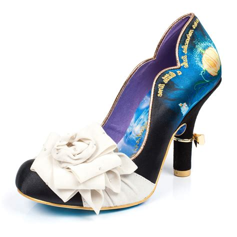 disney high heel shoes womens irregular choice bibiddi bobbidi cinderella disney