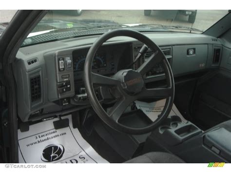 1994 S10 Interior by 1994 Chevrolet S10 Blazer 4x4 Gray Steering Wheel Photo