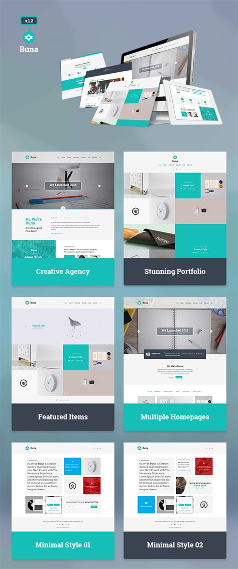 free download agency portfolio template psd designbeep