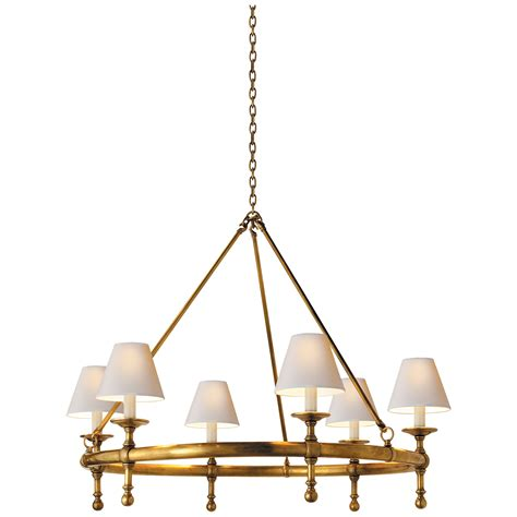 circa lighting classic ring chandelier circa lighting