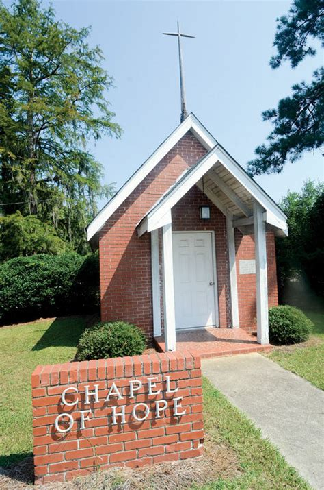 Edisto Memorial Gardens by Chapel Of Offers Small Place For Worship 100