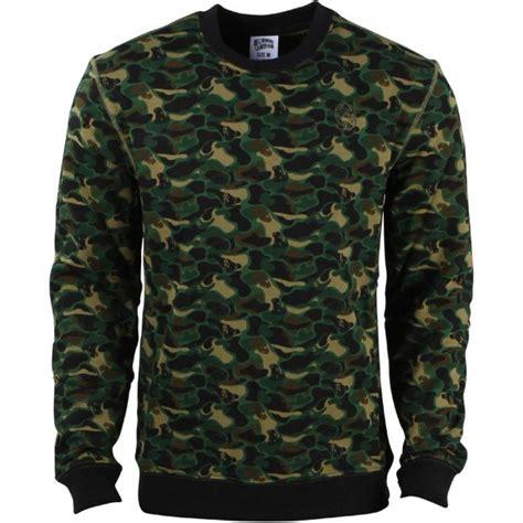 Sweater Camo 7 billionaire boys club camo crewneck sweater camo