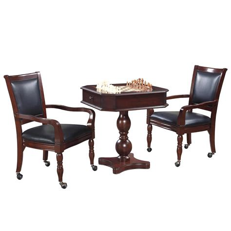 chess table with chairs fortress chess checkers backgammon pedestal table