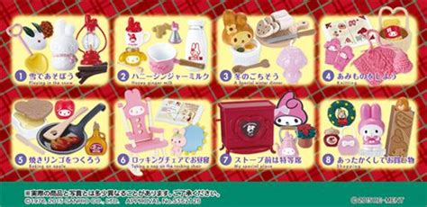 Re Ment My Melody Winter my melody winter vacation re ment miniature blind box re ment miniature shop modes4u