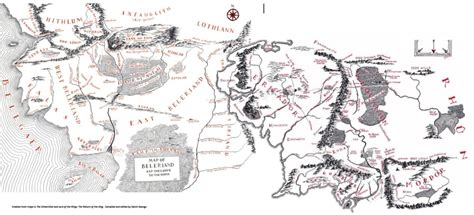 map of the middle earth j r r tolkien s linguistic foundation for middle earth