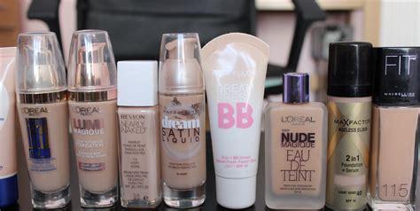 light coverage foundation drugstore best drugstore foundations for dry skin youtube