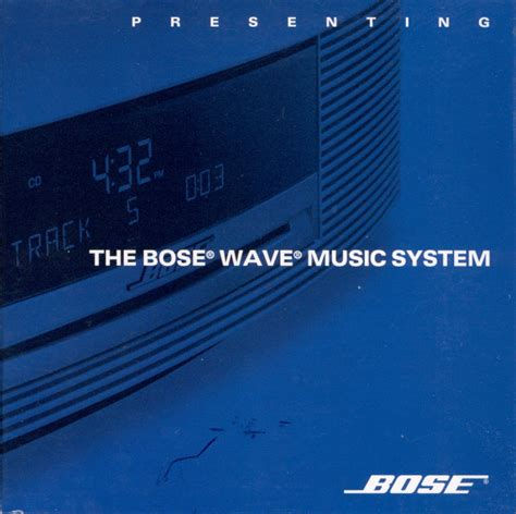 format cd for music various presenting the bose wave music system cd at