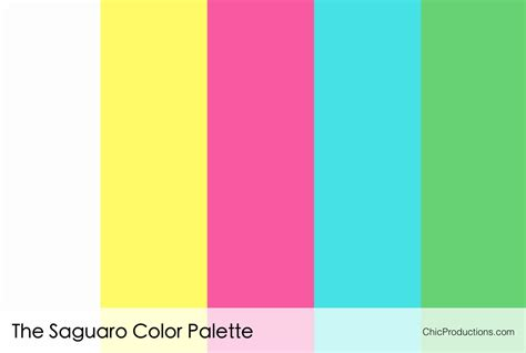 color pallette color palettes chic productions
