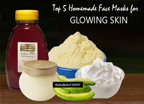 diy mask for glowing skin top 5 masks for glowing skin theindianspot