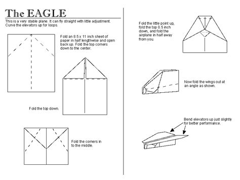 simple paper plane template paper aeroplanes free