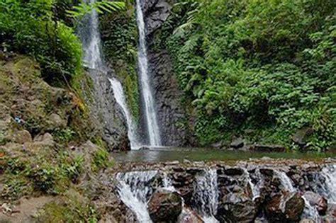 indahnya wisata alam hijau curug tujuh panjalu ciamis