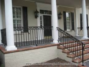 front porch banisters front porch with wrought iron railings search