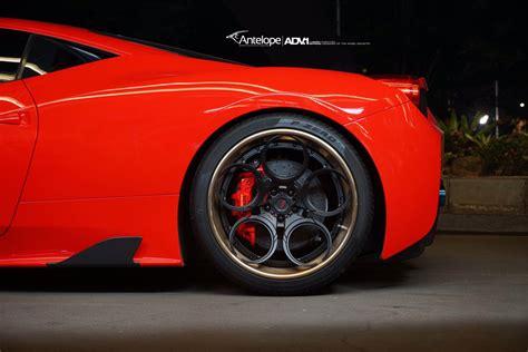 ferrari 458 wheels red ferrari 458 speciale adv05c track spec cs wheels