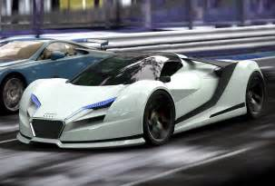 audi r10 concept cars drive away 2day