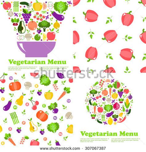 big easter set traditional eggs traditional stock vector