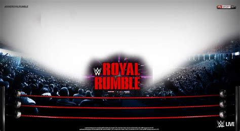 royal rumble match card template match card templates 4 amino
