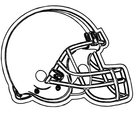 Cleveland Browns Coloring Pages cleveland browns free coloring pages