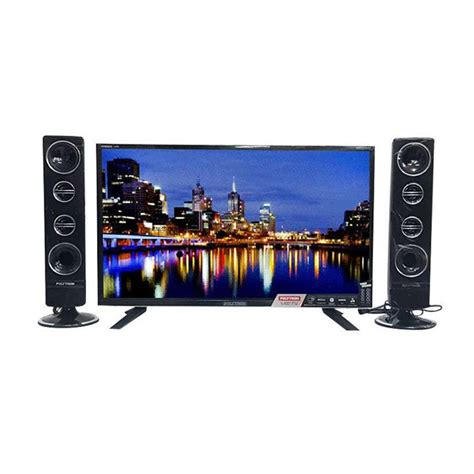 Tv Polytron Speaker Terpisah jual polytron cinemax led tv with tower speaker 24 t 811