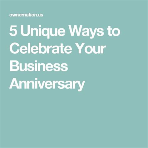 The 25  best Business anniversary ideas ideas on Pinterest