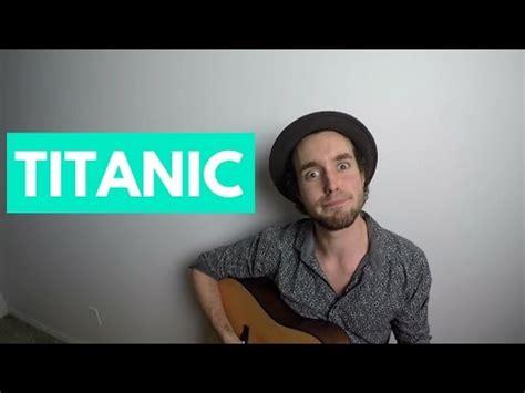 film titanic résumé en anglais le film titanic r 201 sum 201 en chanson avec miro belzil youtube