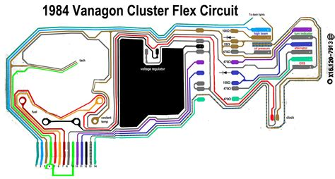 vanagon instrument cluster wiring diagram wiring diagram