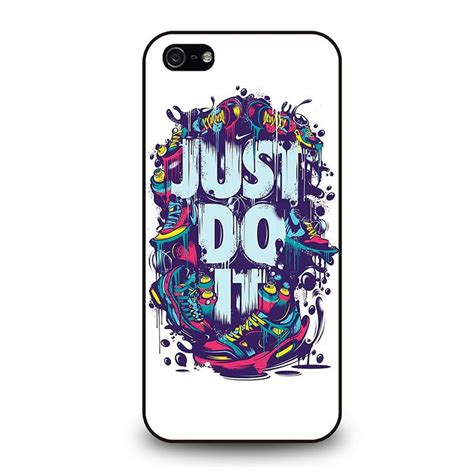 Iphone 5c Nike Just Do It White Hardcase Nike Just Do It Iphone 5 5s Se Best Custom