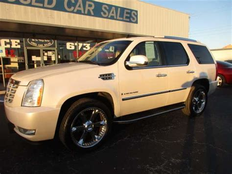 abilene used car sales 2007 cadillac escalade abilene tx abilene used car sales