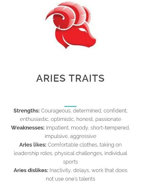 25 best ideas about aries traits on pinterest aries