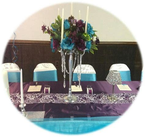 purple and turquoise wedding reception purple and turquoise wedding wedding