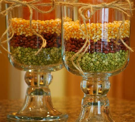 simple inexpensive fall table decorations fall decorating with hurricane vases amanda brown