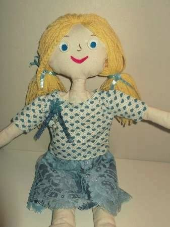 rag doll with zips doll clothes