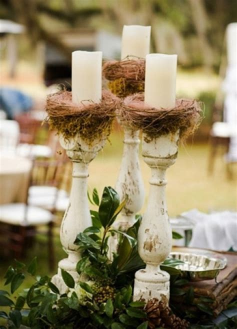 for modern brides 25 fabulous wedding centerpieces without flowers everafterguide - Wedding Table Decor Without Flowers
