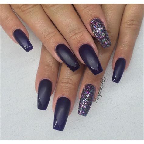 matte coffin nails nail art gallery