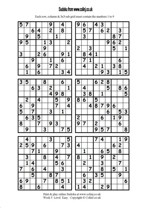 printable sudoku one per page printable sudoku 6 related keywords printable sudoku 6