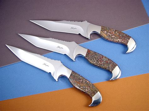 Handmade Designer - custom knife blades blade grinds geometry steel types