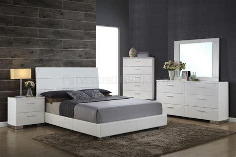 nova bedroom set nova bedroom 5pc set in white by global w options