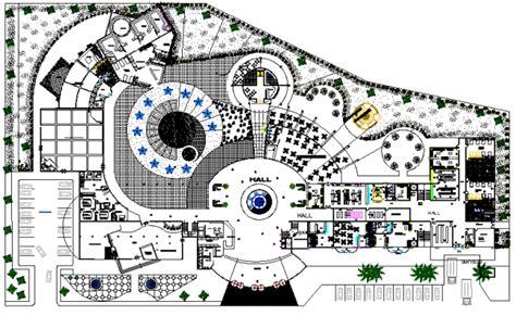 layout hotel dwg hotel layout plan dwg file
