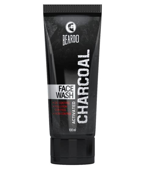 Humphrey Charcoal Wash 250 Ml beardo activated charcoal acne pollution